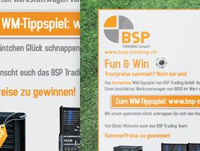BSP Trading GmbH – WM2014 Kampagne