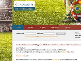 Novartis Pharma Schweiz AG – WM Tippspiel