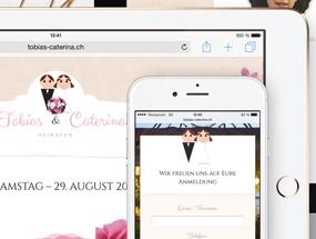 Digitale Hochzeit