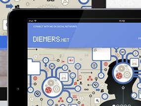 Diemers.net – Redesign
